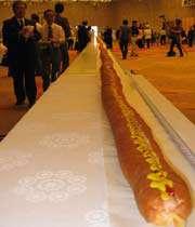 worlds longest hot dog