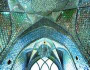 inside on of the imamzadehs in qom