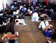 هواداران استقلال قبل از داربی