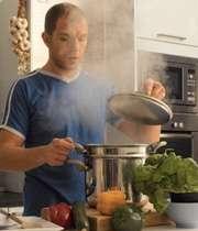 بخارپز کردن سبزیجات