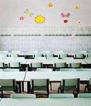 بهترين شکل چيدمانن ميز و صندلي در کلاس