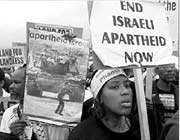 l'apartheid israélien vu par les africains