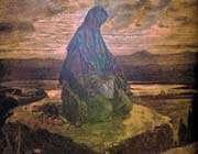 le saint prophète (paix sur lui et sa famille) en prière
