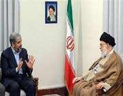 khaled meshaal avec le guide de la révolution islamique ayatollah khamenei