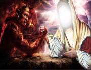پیامبر با شیطان