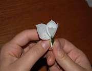 دسته گل کاغذی