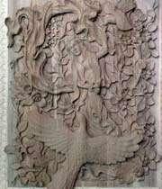 wood carving (monabat)