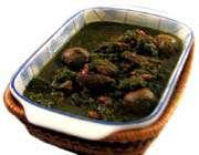 مرقة سبزي(قورمه سبزی)