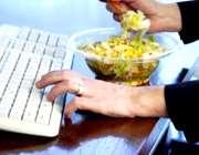 غذا خوردن در محل کار