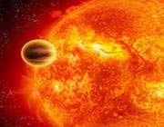 تصويري خيالي از گذر سياره از مقابل ستاره