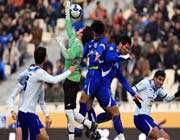 footbal match between esteqlal and malavan teams