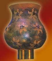 star-burst candle lantern