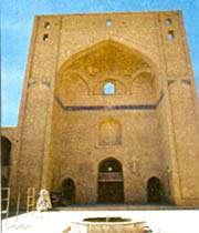 iwan de la mosquée du vendredi