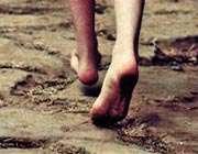 پای برهنه