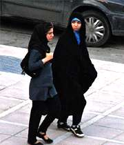 حجاب چادر روسری پوشش اسلامی دختران زنان زن مو مانتو