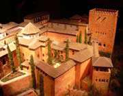 la forteresse protégeant le guadalquivir