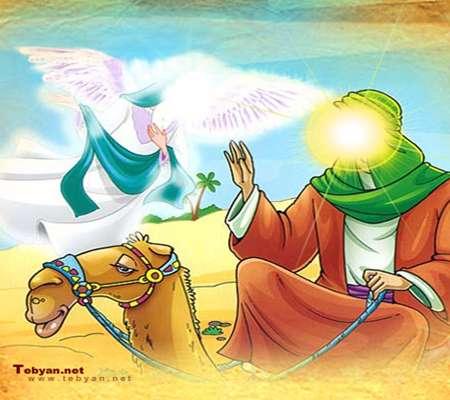 داستان مرد غنی و حضرت ابراهیم