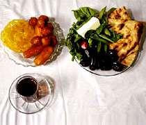 تغذیه ماه رمضان افطار سحری چاقی غذا افطاری