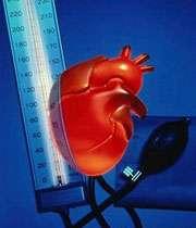 فشار خون و سکته قلبی