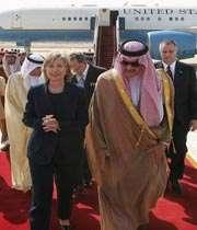 سعود و کلینتون