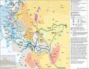 carte géopolitique du pétrole