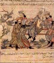 l'assassinat de nezam-ol-molk par la secte des assassins