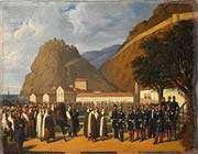 la reddition d'abd el-kader, le 23 décembre 1847 par régis augustin.