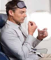 بیمار قلبی در هواپیما