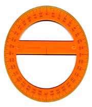 ابزارهای اندازه گیری (نقاله -شیب سنج)