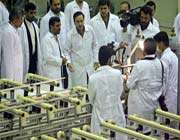 iran says new generation of centrifuges tested