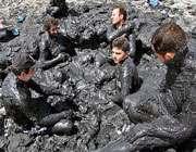 لجن درمانی در دریای ارومیه