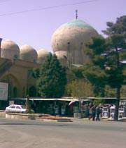 سانحہ ہفتم تیر  کے شہداء کی یادگار