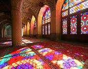 la mosquée wakil à shiraz