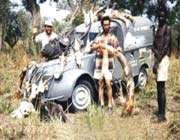 les frères omidvar dans la région de dinka