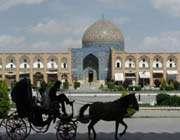 naqsh-e-jahan square, isfahan, iran