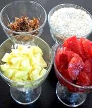 مواد لازم برای تهیه کته استانبولی