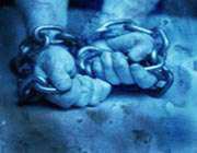 زنجیر و دست
