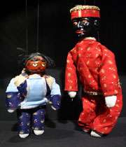 عروسک خیمه شب بازی