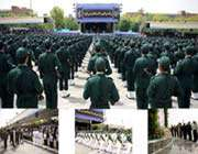 graduation ceremony at imam hussein (a.s) military academy