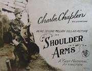shoulder arms- charlie chaplin