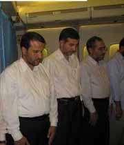 نماز در هواپیما