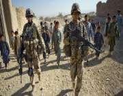 des soldats allemands en afghanistan, le 25 octobre 2009