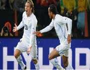 diego forlan celebrates his goal