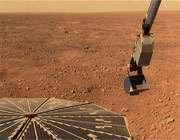 نمایی از سطح مریخ توسط فضاپیمای فونیکس