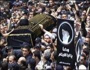 تشييع جثمان السيد فضل الله