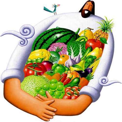 حکایت لقمان و میوه ها