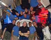 فضانوردان در ایستگاه فضایی