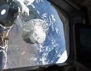 نمایی از ایستگاه فضایی