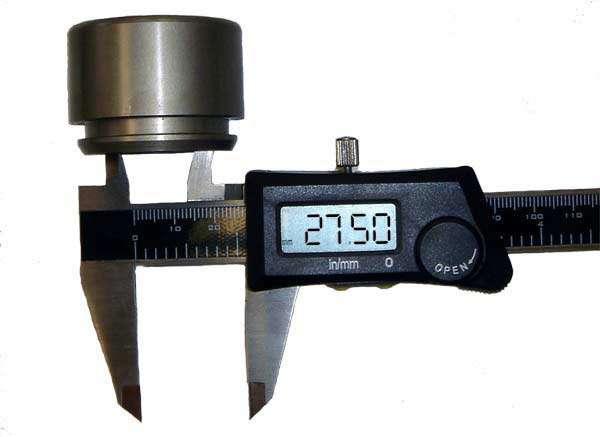 اندازه گیری طول توسط کولیس