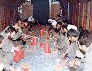 رمضان در جبهه